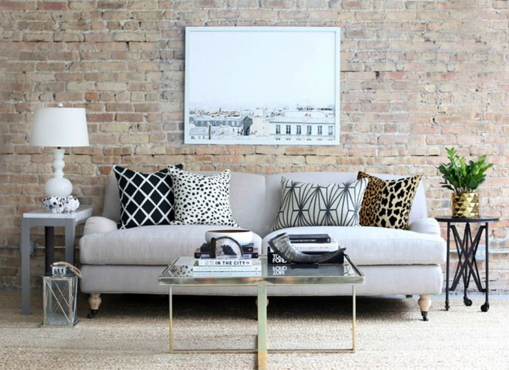 Here Are A Few Decorating Tips On How To Dress Up Your Neutral Living Room  Sofa