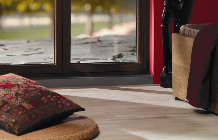 Gealan wood decor windows for a natural appearance