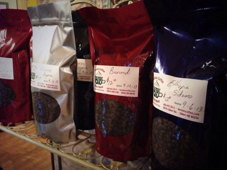 Bruce and Brian Bergeson of Bergies take pride in their coffee: