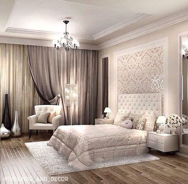 Master Bedroom Wallpaper Accent Wall: Pin By Anja Pajevic On Dream Home