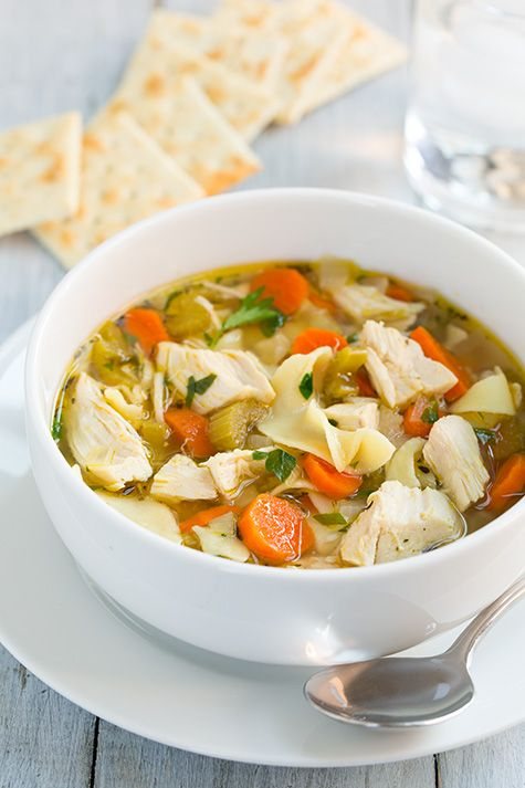 Slow Cooker Chicken Noodle Soup - Cooking Classy. I got this recipe off of Facebook and made it. Everyone loved it!