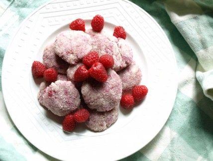 Gluten-Free Raspberry Coconut Macaroons, Wholeliving.comGlutenfree Recipe