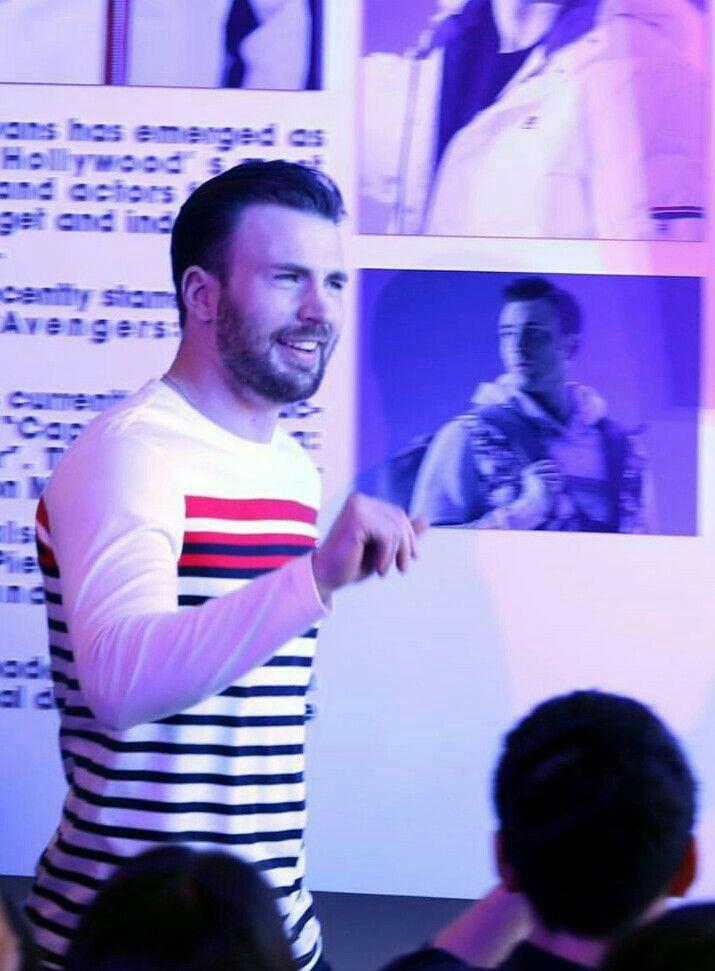 Chris ❤❤ Beautiful Man!