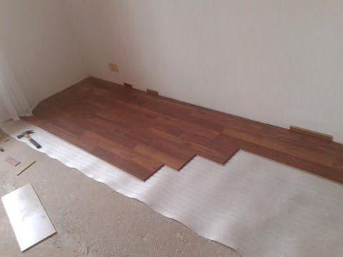 M s de 25 ideas incre bles sobre piso flotante de madera - Como poner un suelo de madera ...