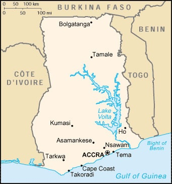 The Akosombo Dam (referred to as the Akosombo Hydroelectric Project), is a hydroelectric dam on the Volta River in southeastern Ghana in the Akosombo gorge and part of the Volta River Authority.