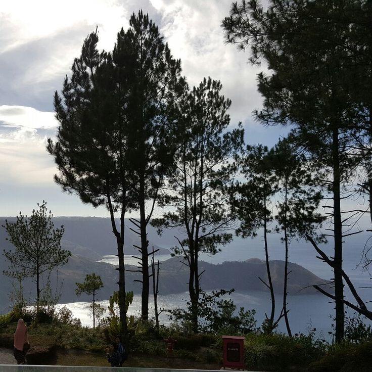 Morning hue of Lake Toba