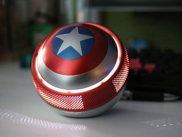 Internet das Coisas!!!: Captain America Shield Mini Bluetooth Speaker