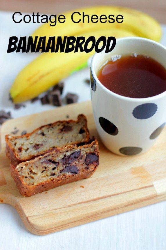 Cottage Cheese Banaan Brood | De Bakparade