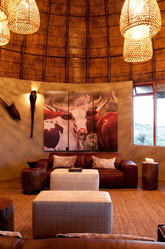 kwena lodge Nguni Art