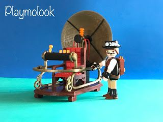 PLAYMOLOOK: PLAYMOLOOK MAQUINA DEL TIEMPO 3D TIME MACHINE