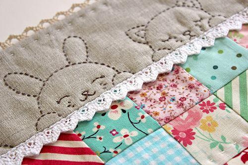 sweet baby quilt idea
