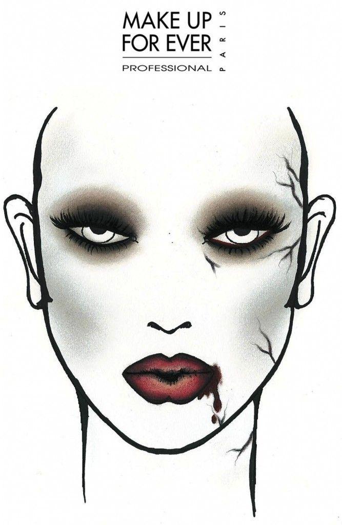 perfectly creepy vampire look