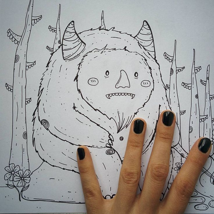 Sketching, baby!  www.facebook.com/imostrinellatesta   Lucia Petrucci Illustrations