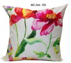 Mezzo Floral painted cushion cover MZ 266- 15C
