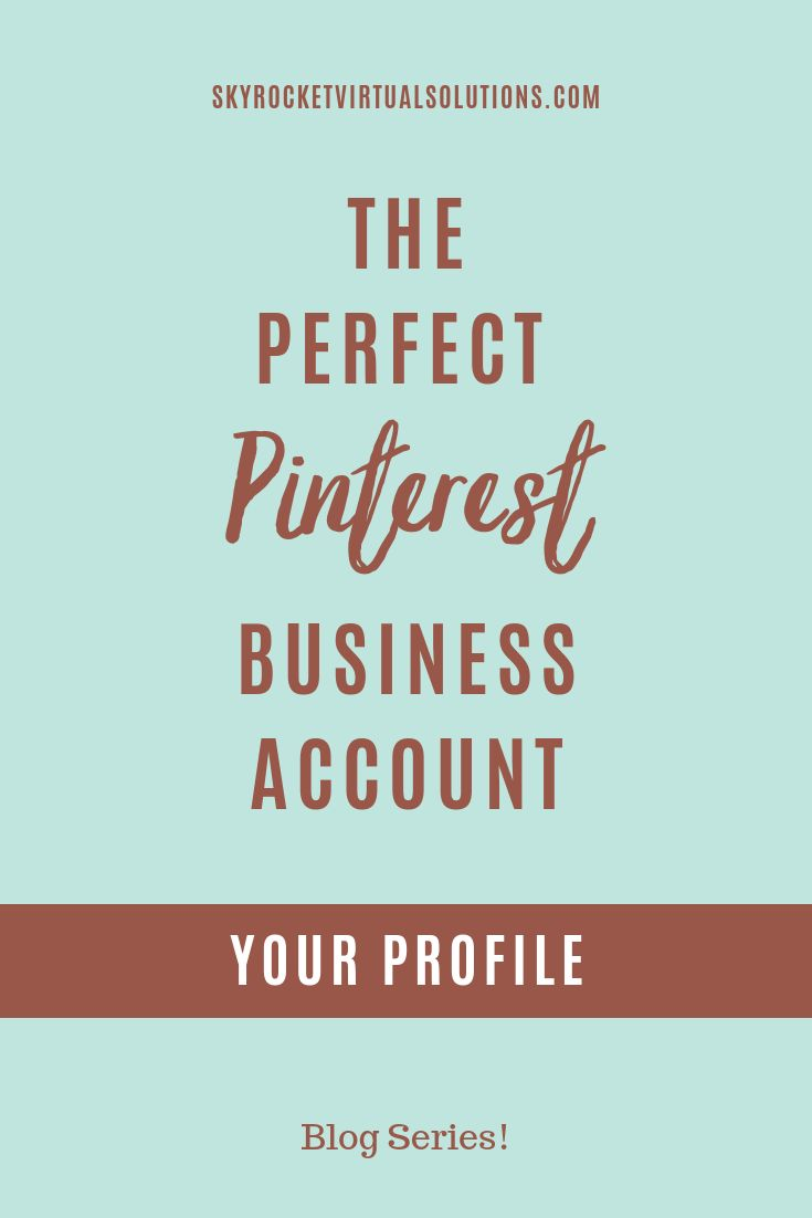 Erstellen des perfekten Pinterest-Geschäftskontos: Ihr Profil
