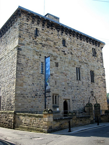Hadrian's Wall Path - Hexham - The Old Gaol - England's first purpose only prison.
