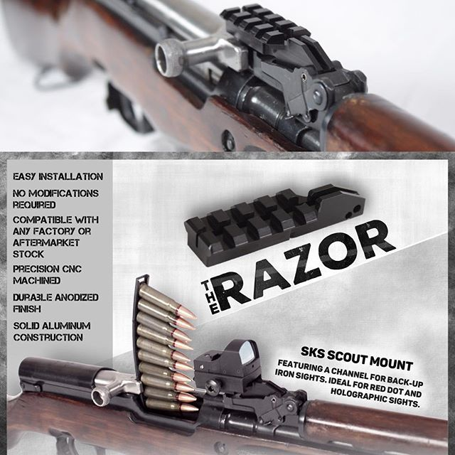 The Razor SKS Scout Mount is bringing happiness to those who
