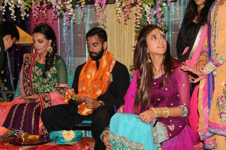 Mehndi ceremony start by sabina