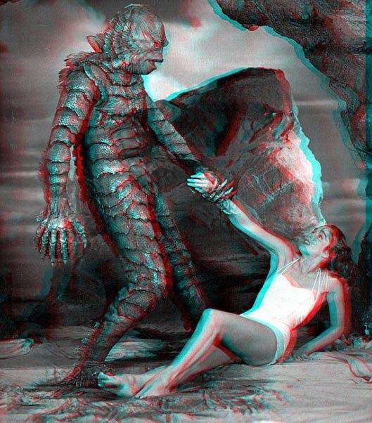 anaglyph Creature from the Black Lagoon