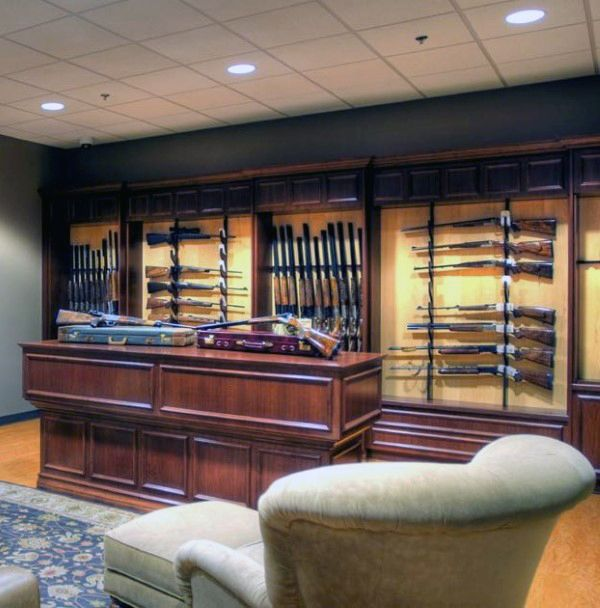 435 best images about gun room on pinterest man cave for Gun safe room ideas
