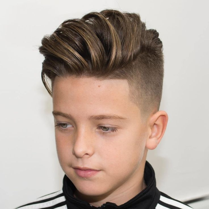 Long Top Undercut For Boys
