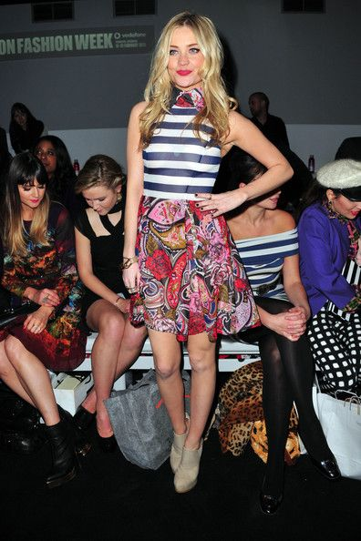 Laura Whitmore - Mollie King and Dawn Richards at LFW