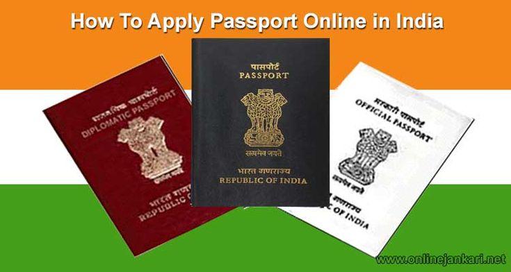 New passport banane ke liye online apply kaise kare jane