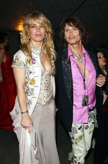 Steven Tyler and ex-wife Teresa Barrick