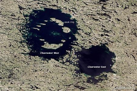 Kettős krátertó Kanadában - http://hjb.hu/kettos-kraterto-kanadaban.html/