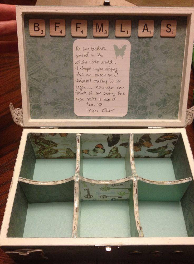 Altered Tea Box - Inside
