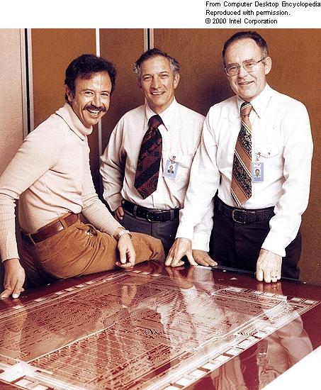 Robert Noyce and Gordon Moore - Intel founders