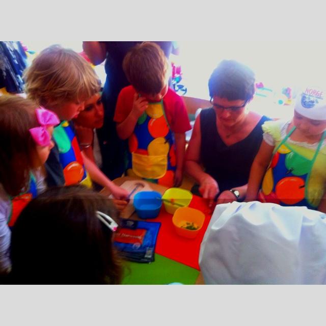 Barn og sjømat i Warszawa