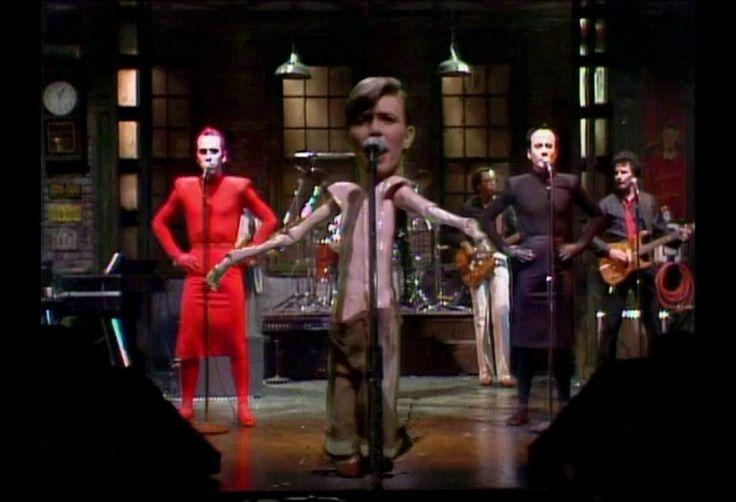David Bowie - Boys Keep Swinging (SNL 1979 live performance)