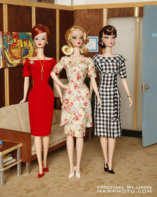 Mad Men Haute Doll Magazine Mar/Apr 2010 by MyLifeInPlastic.com, via Flickr. Joan, Betty, and Peggy? Poor Peggy got the shaft i think - probably due to the real body proportions of the actresses. But u know? who cares they are still fab!