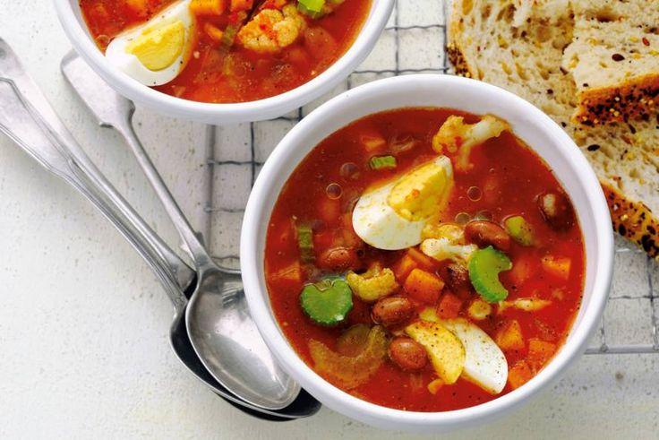 Italiaanse maaltijdsoep voor extra koude dagen - Recept - Allerhande
