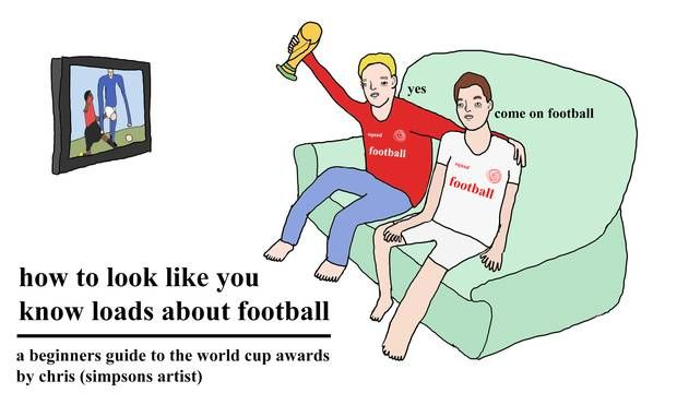How to look like you know loads about football: A beginner's guide to the world cup awards, by chris (simpsons artist) - International - Football - The Independent