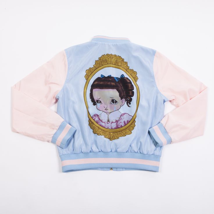 Cry Baby Portrait Bomber Jacket | melaniemartinezmusic.com MELANIE MARTINEZ