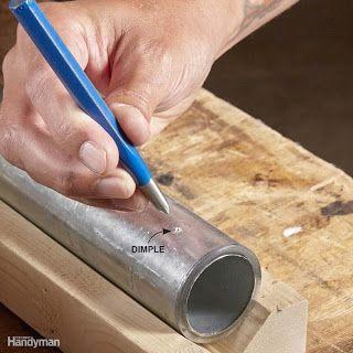 Ah! E se falando em madeira...: Dicas para furação em ferrosos
