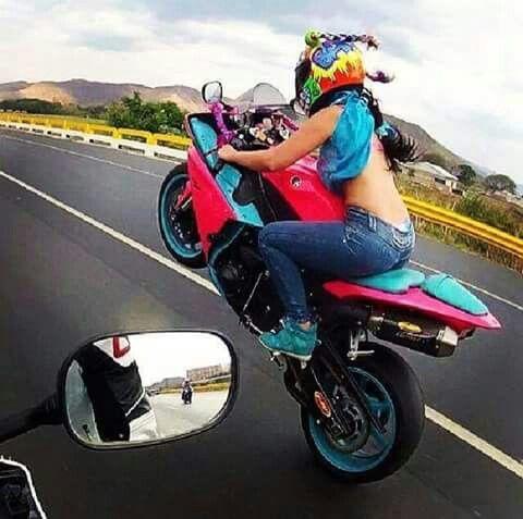 hard core biker babes