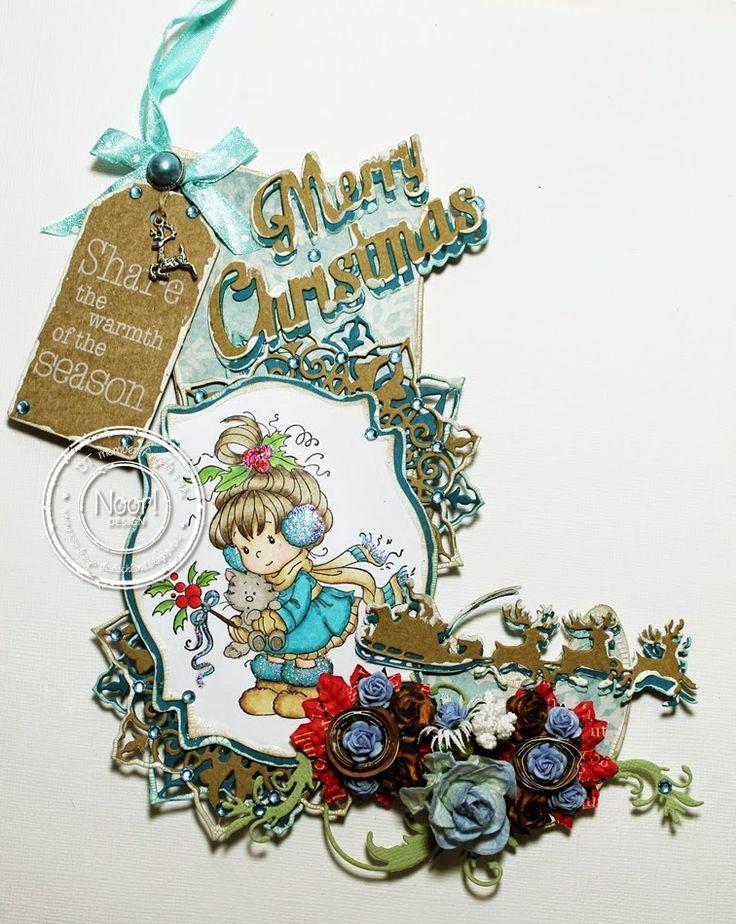 * Christmas Stockin für Noor! Design Deutschland *