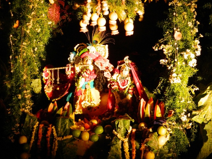 Jhulana Yatra Festival Radha Madan Mohan @ISKCONPune  2012