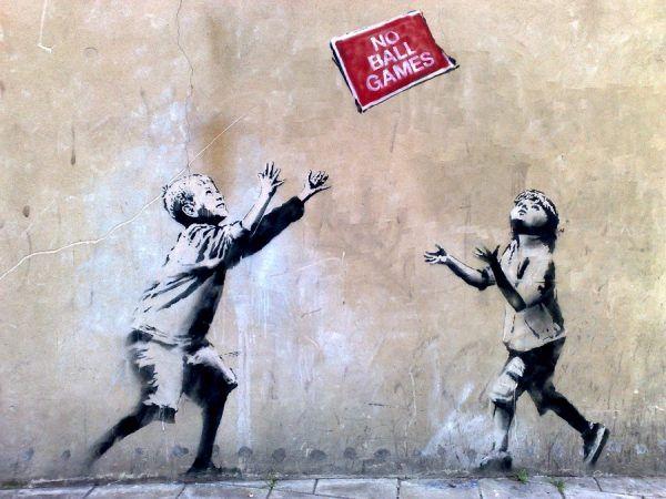 últimos trabalhos de banksy em londres