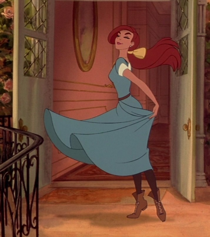 Anya from Anastasia, 20th Century Fox