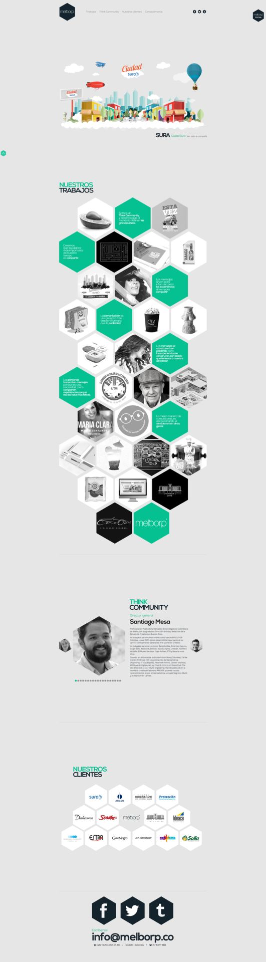 Unique Web Design, Melborp @rivkyguan #WebDesign #Design (http://www.pinterest.com/aldenchong/)