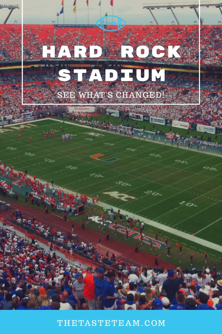 Former Sun Life Stadium is making big changes as the new Hard Rock Stadium.  Learn more on our website!