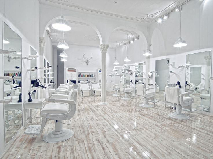 359 best hair news network salon design images on for Actual beauty salon