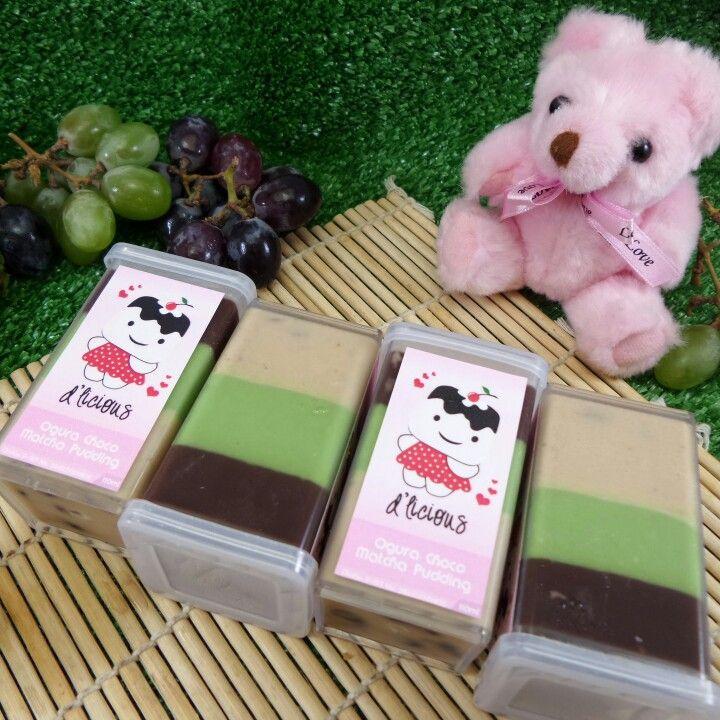 Ogura Choco Matcha Pudding