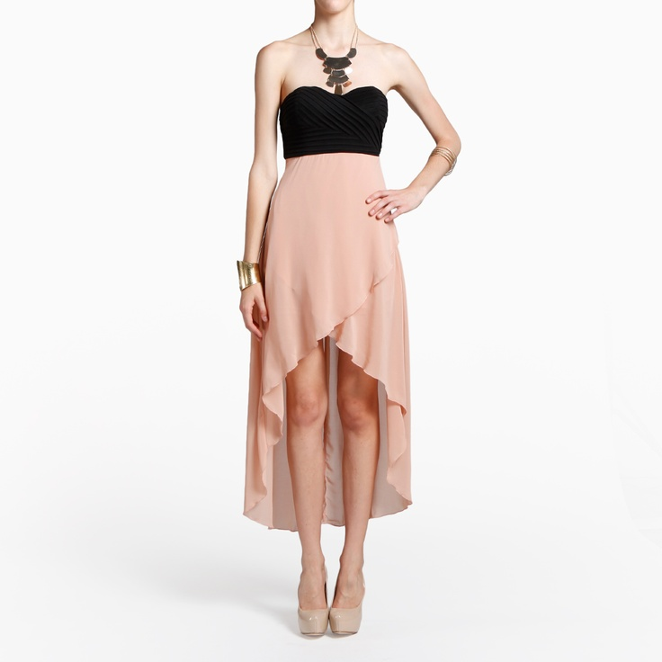 High/Low Sweetheart DressHigh Low Dresses, Hilow Dresses, Highlow Dresses, High Low Sweetheart, Maxis Dresses, Dresses Features, Sweetheart Dresses, Chiffon Dresses, Highlow Sweetheart