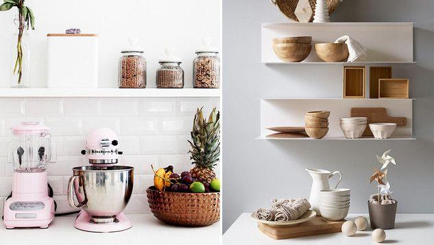 Comment Organiser Des Etageres Ouvertes Dans La Cuisine Etageres