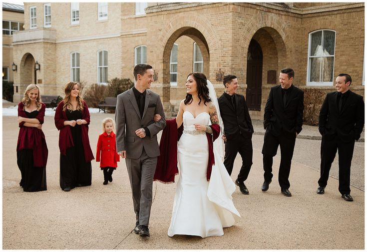 Wedding party inspiration - Wedding party photography